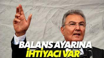 Deniz Baykal'dan Erdoğan'a Balans Ayarı Uyarısı