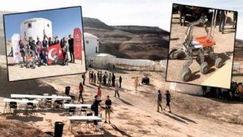 """""""ALTINAY Mars Kâşifi"""" projesinde İTÜ'lü gençlerden büyük başarı"""