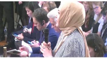 Hilal Kaplan'a Trump'tan şok yanıt