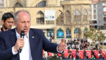 Muharrem İnce'den Cumhurbaşkanı'nın O Fotoğrafına Eleştiri