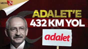 Kemal Kılıçdaroğlu'ndan İstanbul'a kadar 'Adalet Yürüyüşü'