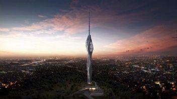İstanbul'un yeni yükselen projesi: Çamlıca TV Radyo Kulesi
