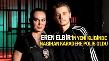 Eren Elbir Klibinde Milli Atlet Nagihan Karadere'yi Polis Yaptı