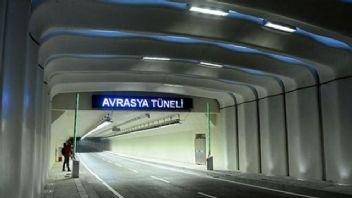 Avrasya Tüneli 4 saat kapandı! Zarar 88 bin lira