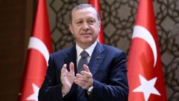 Cumhurbaşkanı Erdoğan Yıldız Hamidiye Camii'nin açılışında
