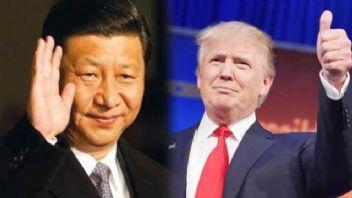 Donald Trump ile Şi Cinping görüştü